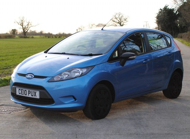 2010 10 FORD FIESTA 1.2 EDGE 5d 81 BHP