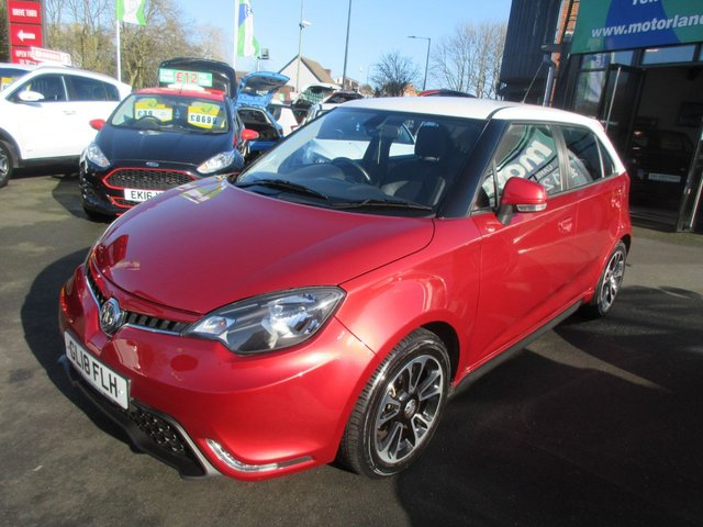 USED 2018 18 MG 3 1.5 STYLE PLUS VTI-TECH 5d 106 BHP ** JUST ARRIVED ** FULL SERVICE HISTORY **