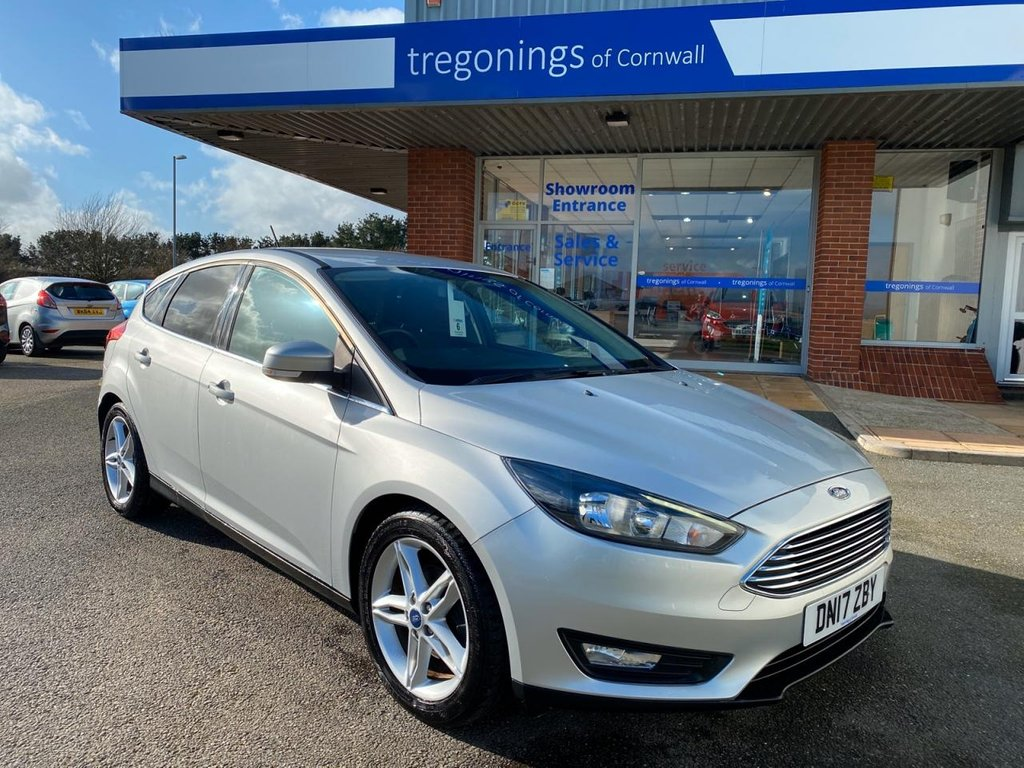 USED 2017 17 FORD FOCUS 1.5L ZETEC EDITION TDCI 5d 118 BHP
