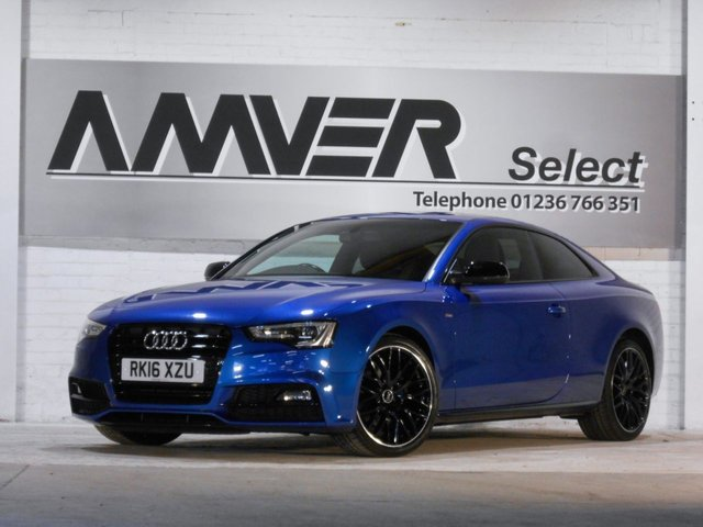 2016 16 AUDI A5 2.0 TDI BLACK EDITION PLUS 3d 187 BHP