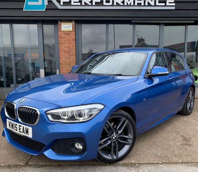 2015 15 BMW 1 SERIES 2.0 120D M SPORT AUTO 5d 188 BHP