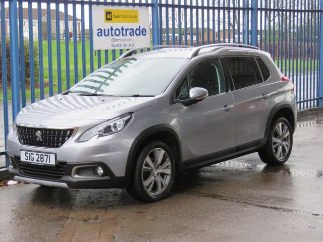 USED 2016 PEUGEOT 2008 1.6 BLUE HDI ALLURE 5dr 1/2 Leather Cruise Park sensors Privacy ULEZ COMPLIANT Ulez compliant Finance arranged Part exchange available Open 7 days
