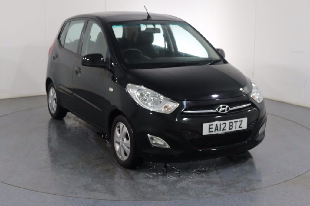 USED 2012 12 HYUNDAI I10 1.2 ACTIVE 5d 85 BHP Company and ONE OWNER whit 5 Stamp SERVICE HISTORY