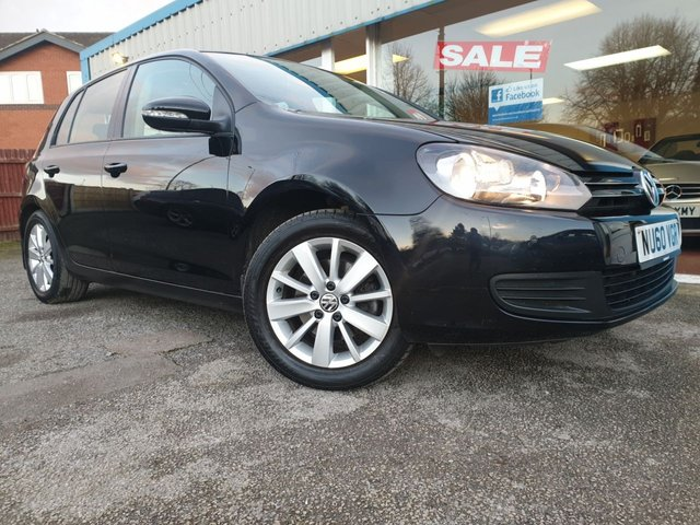 USED 2010 60 VOLKSWAGEN GOLF 2.0 MATCH TDI 5d 138 BHP
