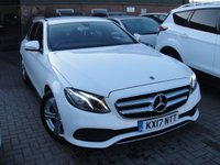 USED 2017 17 MERCEDES-BENZ E CLASS 2.0 E 200 D SE 4d 148 BHP ANY PART EXCHANGE WELCOME, COUNTRY WIDE DELIVERY ARRANGED, HUGE SPEC