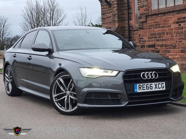 2016 66 AUDI A6 2.0 TDI ULTRA BLACK EDITION 4d 188 BHP