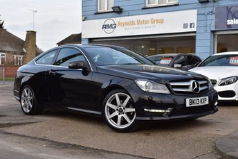2013 MERCEDES-BENZ C CLASS 2.1 C220 CDI BLUEEFFICIENCY AMG SPORT 2d 170 BHP £8999.00