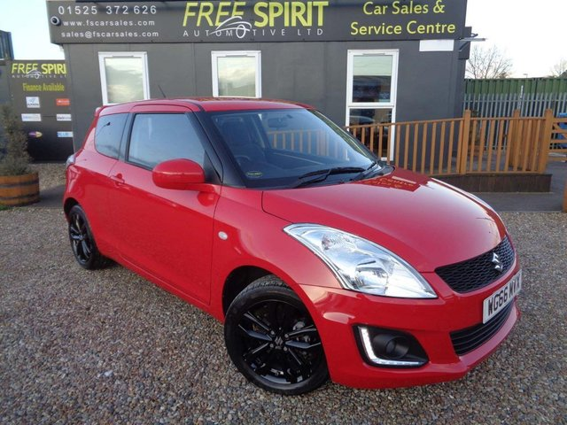USED 2017 66 SUZUKI SWIFT 1.2 SZ-L 3dr Nav, Bluetooth, DAB