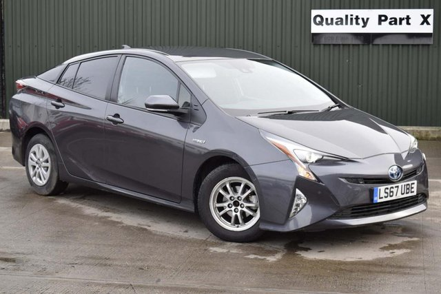 USED 2017 67 TOYOTA PRIUS 1.8 VVT-h Business Edition Plus CVT (s/s) 5dr (15in Alloy) CALL FOR NO-CONTACT DELIVERY