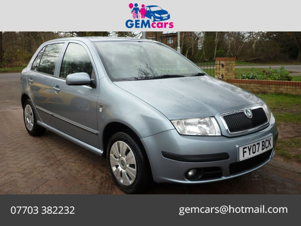 USED 2007 07 SKODA FABIA 1.4 AMBIENTE 16V 5d 99 BHP WE ARE OPEN FOR ONLINE SALES WITH FREE DELIVERY*
