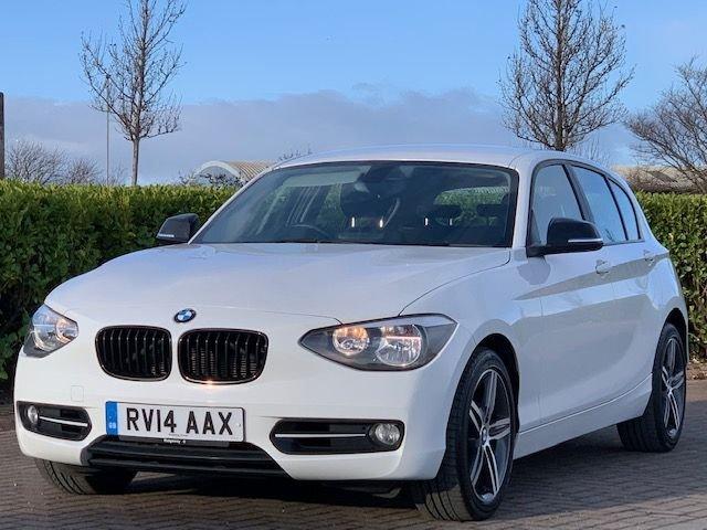 USED 2014 14 BMW 1 SERIES 2.0 120D SPORT 5d 181 BHP
