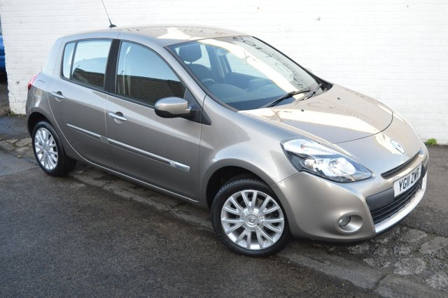 USED 2011 11 RENAULT CLIO 1.2 DYNAMIQUE TOMTOM TCE 5d 100 BHP