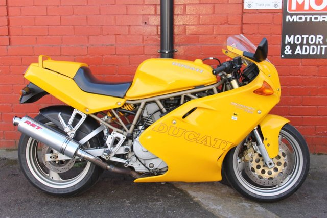 USED 1998 R DUCATI 750 SUPER SPORT *12mth Mot, VGSH, 3mth Warranty, Nice Condition* A Real Nice Example, Finance And Delivery Available