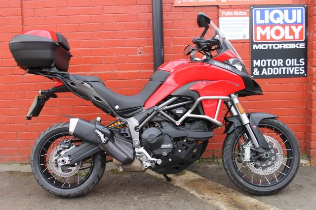 USED 2018 J DUCATI MULTISTRADA 950 111 BHP A Cracking Example, FDSH, Finance Available.