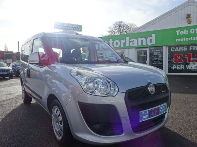 USED 2011 11 FIAT DOBLO 1.6 MULTIJET DYNAMIC 5d 105 BHP **  JUST ARRIVED ** CALL 01543 877320**