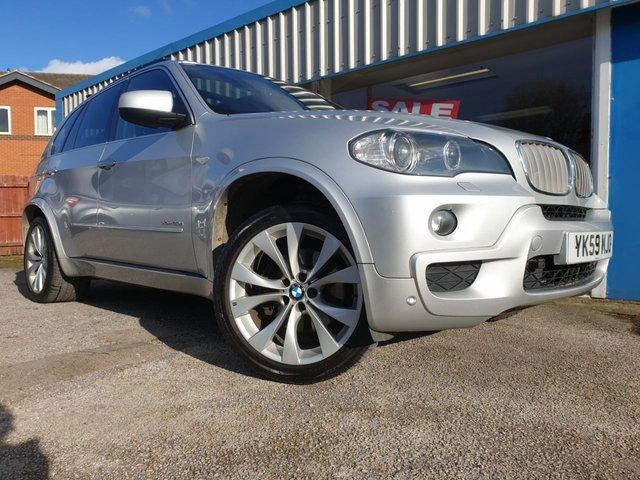 USED 2009 BMW X5 3.0 XDRIVE30D M SPORT 5d 232 BHP