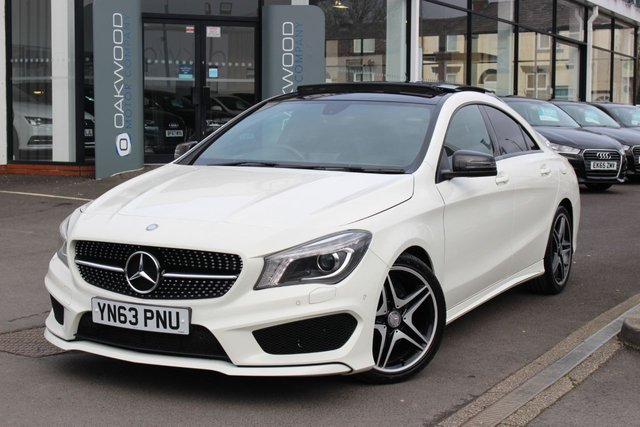 USED 2013 63 MERCEDES-BENZ CLA 1.6 CLA180 AMG Sport 4dr