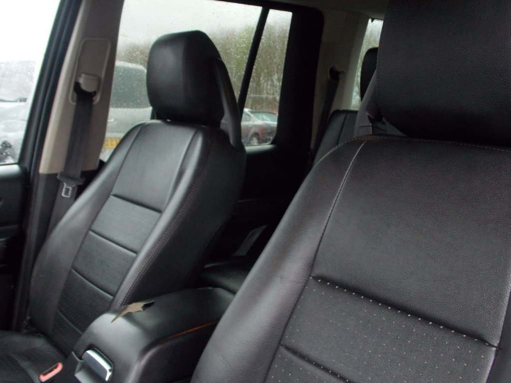 USED 2009 09 LAND ROVER DISCOVERY 2.7 3 TDV6 XS 5d 188 BHP