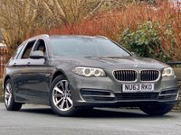 USED 2014 63 BMW 5 SERIES 2.0 520D SE TOURING 5d 181 BHP