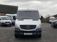 USED 2016 66 MERCEDES-BENZ SPRINTER 2.1 314CDI 140 BHP MWB FACELIFT EURO 6 LOW ROOF BLUEEFFICIENCY EURO 6, MWB, LOW ROOF, ONE OWNER, FULL DEALER HISTORY