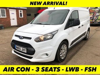 2015 FORD TRANSIT CONNECT 1.6 240 TREND L2 LWB 95 BHP AIR CON £6500.00