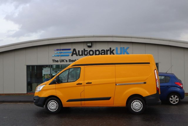 USED 2015 15 FORD TRANSIT CUSTOM 2.2 330 TREND LR P/V 153 BHP LOW DEPOSIT OR NO DEPOSIT FINANCE AVAILABLE
