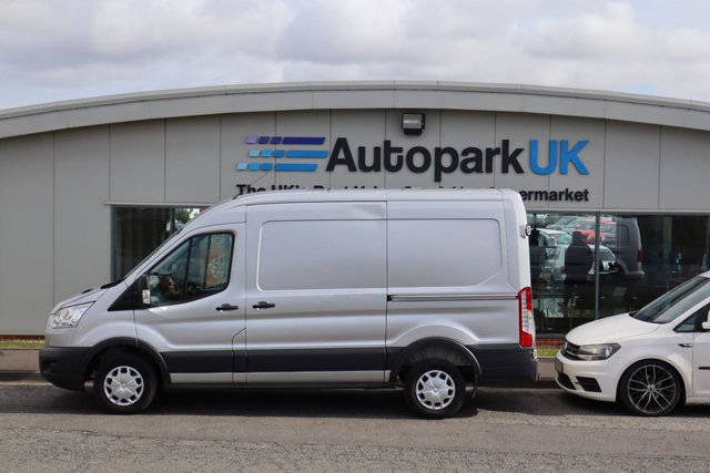 USED 2016 16 FORD TRANSIT 2.2 290 TREND SHR P/V 124 BHP LOW DEPOSIT OR NO DEPOSIT FINANCE AVAILABLE