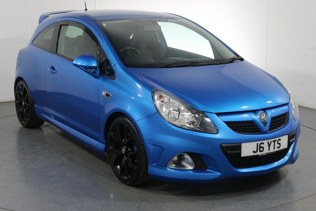 USED 2010 VAUXHALL CORSA 1.6 VXR 3d 189 BHP BEST COLOUR I SPORTS EXHAUST