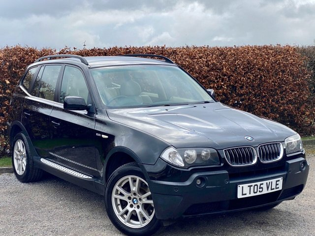 USED 2005 05 BMW X3 2.5 SE 5d AUTOMATIC  * ONE OWNER FROM NEW * AUTOMATIC *