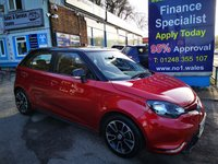 2016 MG 3 1.5 3 STYLE VTI-TECH 5d 106 BHP, only 37000 miles, One Owner from new £5495.00