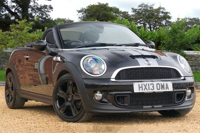 2013 13 MINI ROADSTER 1.6 Cooper S Roadster 2dr CONVERTIBLE (2013) Petrol Automatic