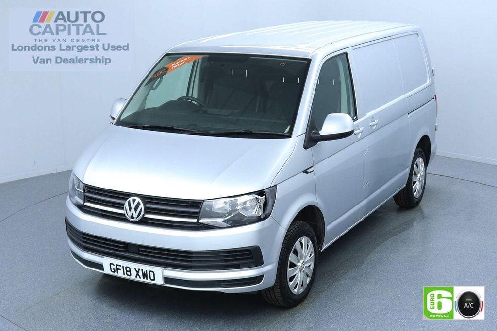 USED 2018 18 VOLKSWAGEN TRANSPORTER 2.0 T28 TDI TRENDLINE 101 BHP SWB EURO 6 ENGINE AIR CON | PARKING SENSORS