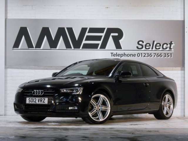 2012 12 AUDI A5 3.0 TDI QUATTRO BLACK EDITION 2d 245 BHP