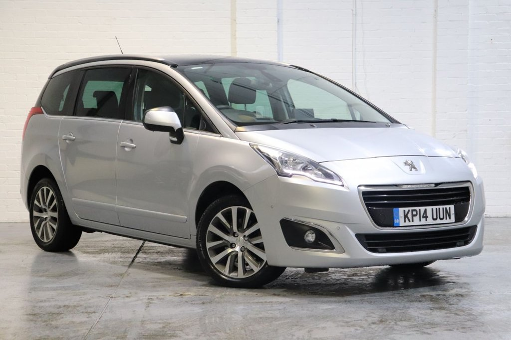 USED 2014 14 PEUGEOT 5008 2.0 HDI ALLURE 5d 163 BHP Satnav + Panoramic Roof + Camera + Fsh