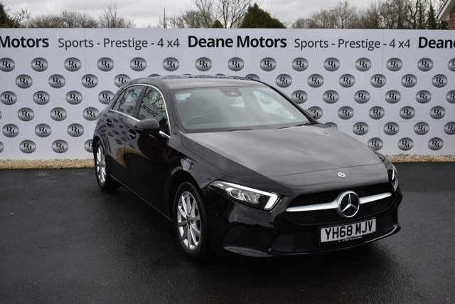 2018 68 MERCEDES-BENZ A CLASS 1.5 A 180 D SPORT EXECUTIVE 5d 114 BHP