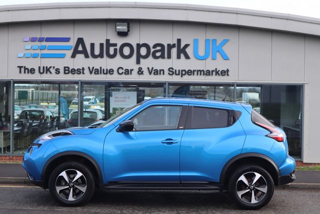 USED 2018 68 NISSAN JUKE 1.6 BOSE PERSONAL EDITION XTRONIC 5d 112 BHP LOW DEPOSIT OR NO DEPOSIT FINANCE AVAILABLE