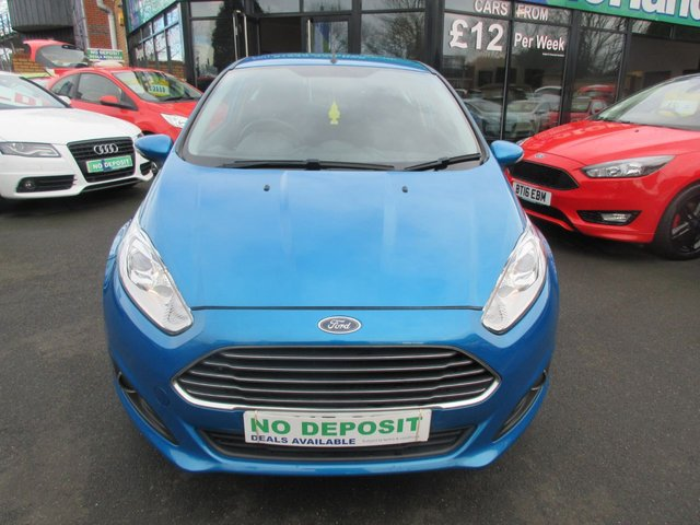 USED 2015 15 FORD FIESTA 1.2 ZETEC 3d 81 BHP ** 01543 379066 ** JUST ARRIVED ** FULL SERVICE HISTORY **
