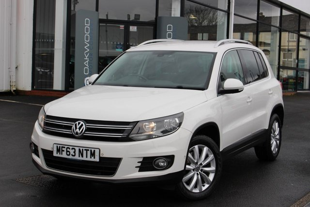 USED 2013 63 VOLKSWAGEN TIGUAN 2.0 TDI BlueMotion Tech Match 4WD (s/s) 5dr