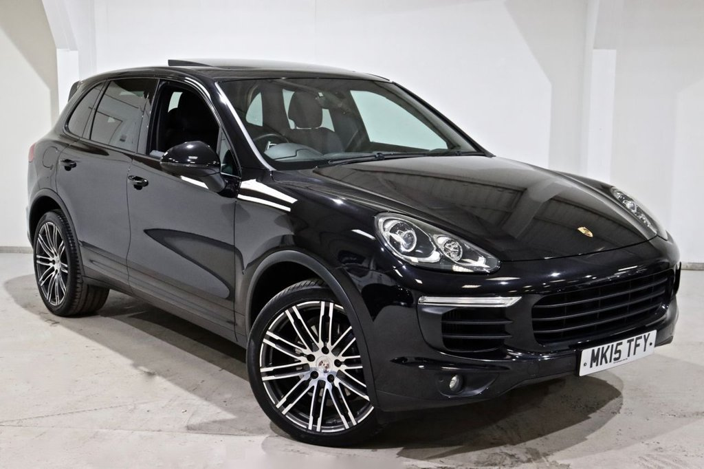 USED 2015 15 PORSCHE CAYENNE 3.0 D V6 TIPTRONIC S 5d 262 BHP