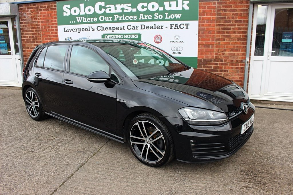 USED 2016 16 VOLKSWAGEN GOLF 2.0 GTD 5d 181 BHP +STUNNING CAR +ONE OWNER +FSH.