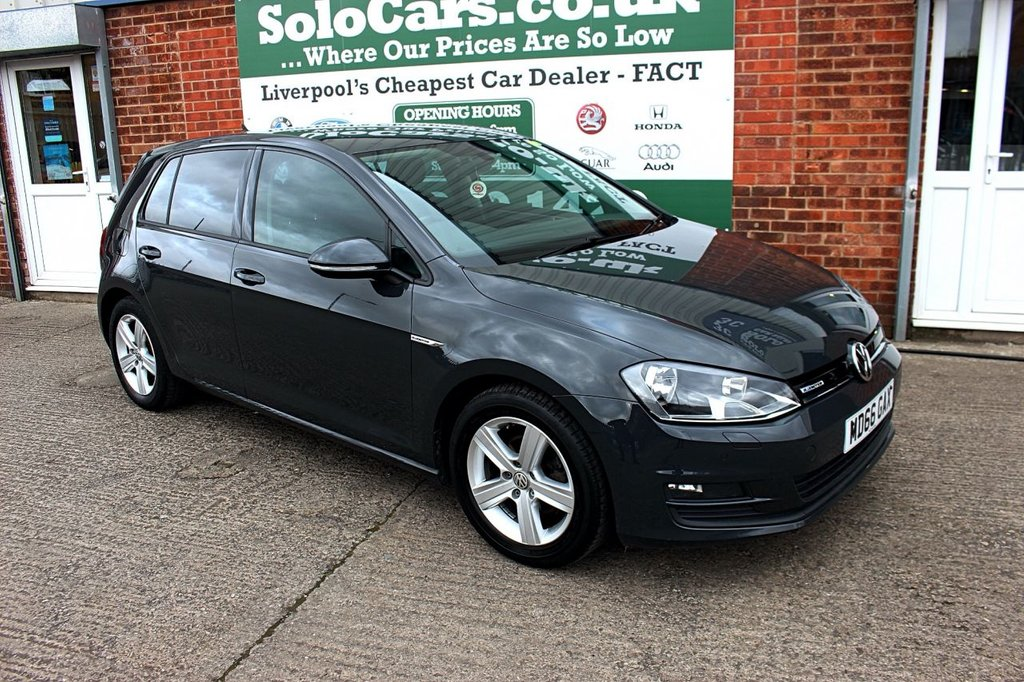 USED 2017 66 VOLKSWAGEN GOLF 1.0 MATCH EDITION TSI BLUEMOTION 5d 114 BHP +ONE OWNER +LOW TAX +SAT NAV.