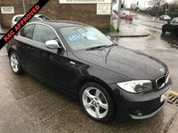 2013 BMW 1 SERIES  120D COUPE EXCLUSIVE EDITION  175 BHP £6995.00