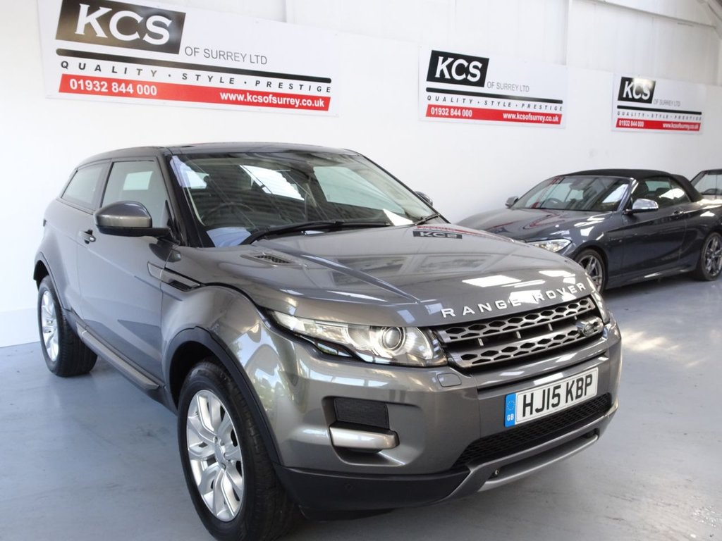 USED 2015 15 LAND ROVER RANGE ROVER EVOQUE 2.2 SD4 PURE TECH 3d 190 BHP SAT NAV / PAN ROOF / HTD SEATS