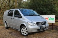USED 2011 11 MERCEDES-BENZ VITO 2.1 111 CDI LWB DUALINER AIR CON Air Conditioning, 5 Seats, Tailgate, Twin Side Doors