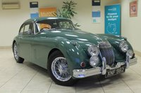 USED 1959 JAGUAR XK 150 3.8 COUPE HISTORIC VEHICLE WE ARE PROUD TO OFFER THIS SUPERB JAGUAR XK150 FIXED HEAD FINISHED IN SHERWOOD GREEN. THE CAR IS AN ORIGINAL UK SUPPLIED RHD WITH MATCHING ENGINE NUMBER. TAKEN IN FROM A DECEASED ESTATE AROUND 3 YEARS AGO. THE CAR WAS FULLY RESTORED ABOUT 11 YEARS AGO AND HAD A COMPLETE ENGINE REBUILD NOV 2013 3,000 MILES AGO AT A COST OF £12500 POUNDS BY GUY BROAD. CALL OUR SALES TEAM TO DISCUSS FURTHER