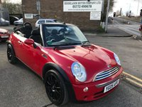 USED 2005 05 MINI CONVERTIBLE 1.6 COOPER 2d 114 BHP