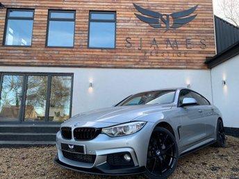 2016 BMW 4 SERIES 2.0 420D XDRIVE M SPORT GRAN COUPE 4d AUTO 188 BHP £19490.00