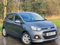 USED 2014 14 HYUNDAI I10 1.0 SE 5d 65 BHP LOW MILEAGE AND LOW RUNNING COSTS
