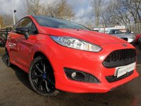 2014 FORD FIESTA 1.0 ZETEC S RED EDITION 3d 139 BHP £7490.00