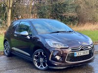 USED 2014 64 CITROEN DS3 1.6 BLUEHDI DSPORT PLUS 3d 120 BHP FULL BLACK LEATHER, BLUETOOTH CONNECTION
